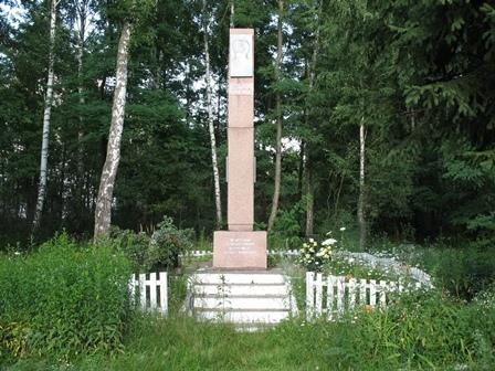 Памятник на месте гибели Щорса