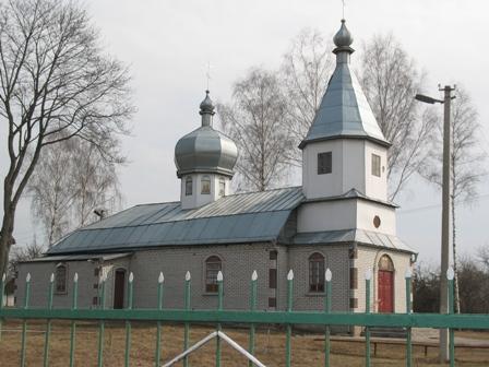 Церковь, с.Ушомир