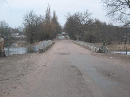 Мост через р.Уж, с.Ушомир