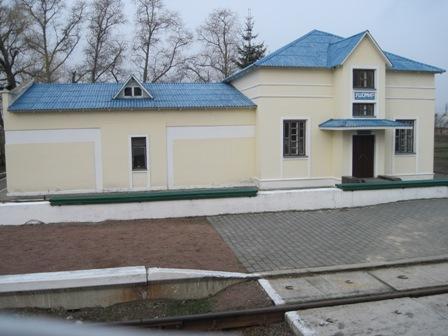 Станция Ушомир