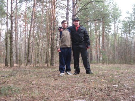Лес между Злобычами и Грабами
