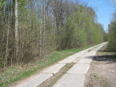 Дорога в с.Топильня