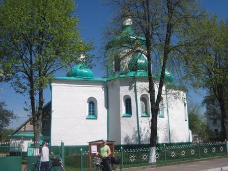 Храм в честь св.Николая, церковь построена в 1595г.
