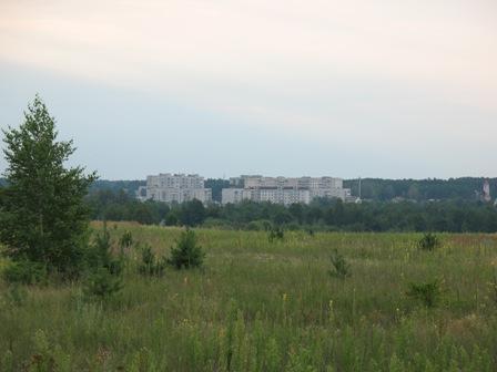 На горизонте город металлургов - Иршанск