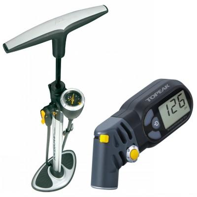 Манометр для измерения давления в камере велосипеда