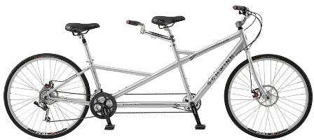 Велосипед тандем – двойное удовольствие