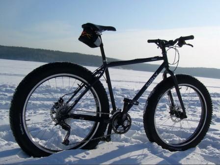 Велосипед зимой — как ездить