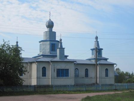 Знаменитая церковь в с.Фосня