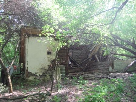 с. Старое  Шарно -  остатки хат