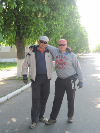 пгт. Народычи - центральная улица