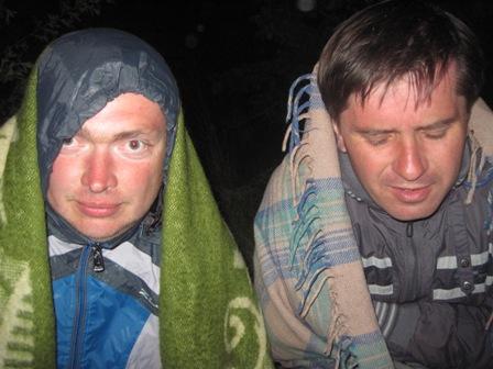 Нам с Серёгой как-то не сильно весело - холодало стремительно
