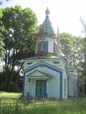 Церковь Великие Клещи