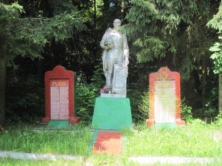 Памятник воинам ВОВ с.Великие Клещи