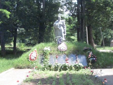 Памятник воинам  ВОВ с.Недашки