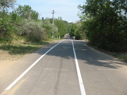 Трасса Здоровья в Одессе с велодорожкой