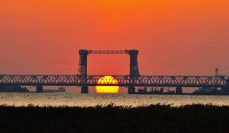Мост через лиман, пос.Затока